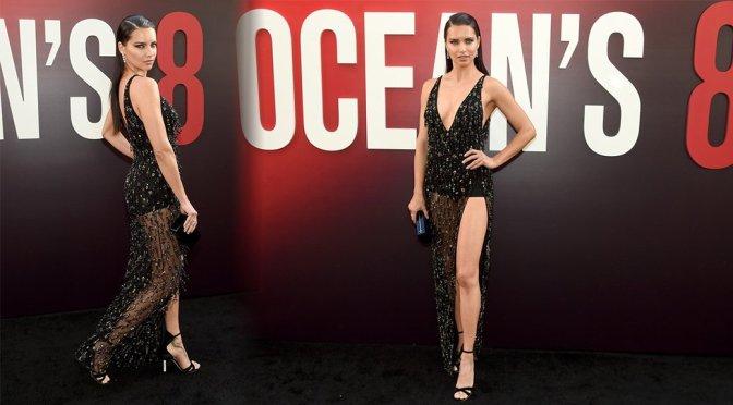 "Adriana Lima – ""Ocean's 8"" Premiere in New York"