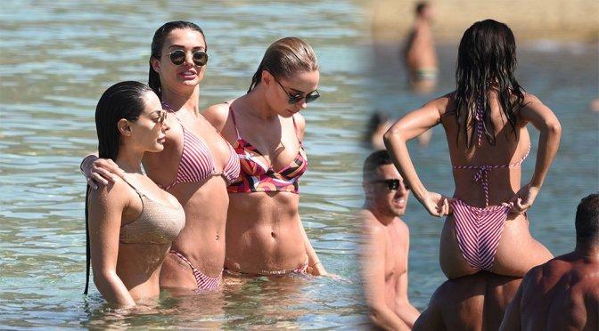 Amy Jackson – Bikini Candids in Mykonos