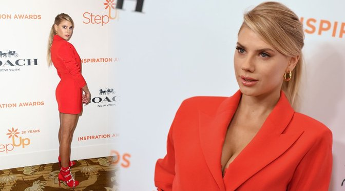 Charlotte McKinney – Step Up's 14th Annual Inspiration Awards