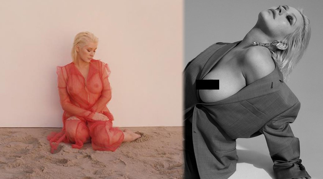 Christina Aguilera -Liberation Album Naked Photoshoot