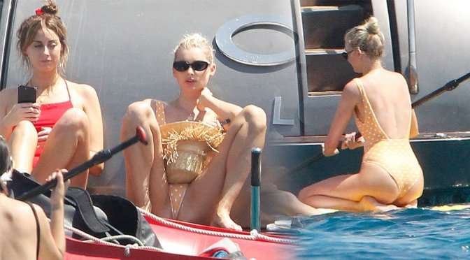 Elsa Hosk – Swimsuit Candids in Formentera