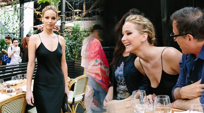 Jennifer Lawrence – Standard Inaugurates Prune Nourry's: The Amazon in New York