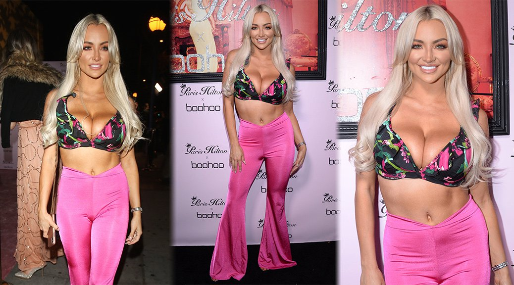 Lindsey Pelas - Boohoo x Paris Hilton Launch in West Hollywood