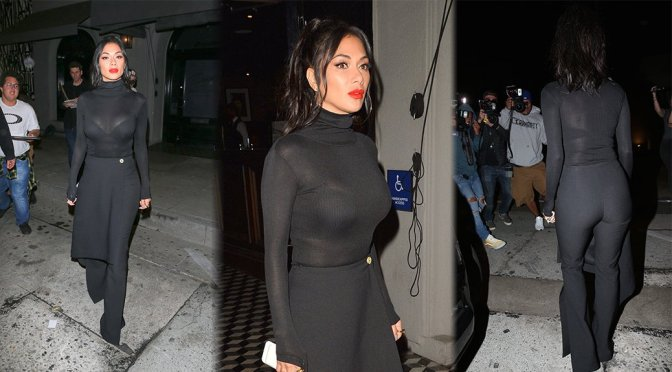 Nicole Scherzinger – See-Through Candids in West Hollywood