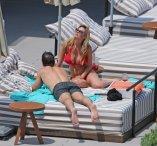 Rhian Sugden Topless Bikini