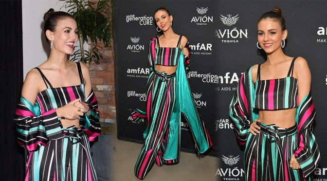 Victoria Justice – amfAR GenCure Solstice 2018 in New York