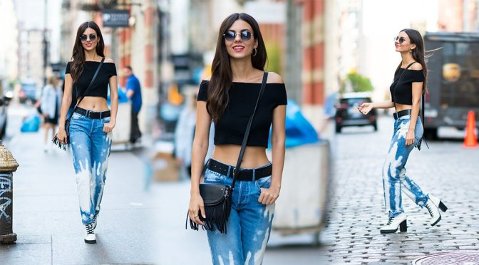 Victoria Justice – Candids in New York
