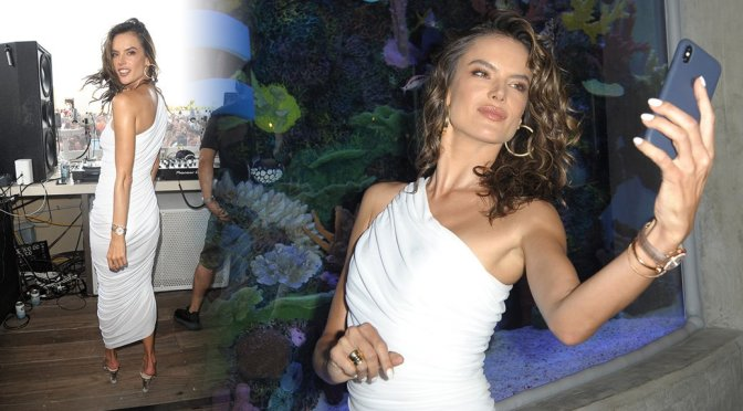 Alessandra Ambrosio – HQ2 Beachclub at Ocean Resort Casino in Atlantic City