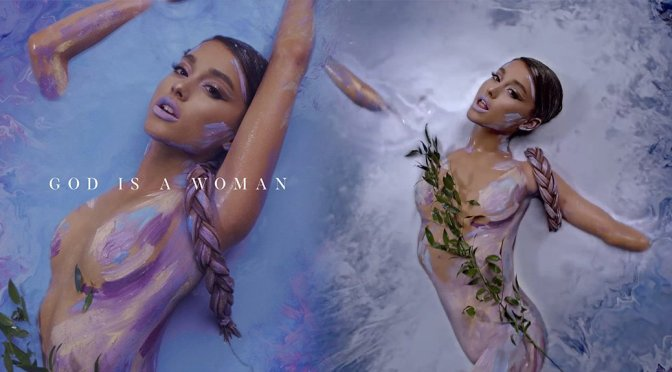 "Ariana Grande – ""God is a Woman"" Music Video Cover & Caps"