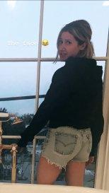 Ashley Tisdale Denim Shorts