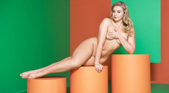 Iskra Lawrence Naked Photoshoot
