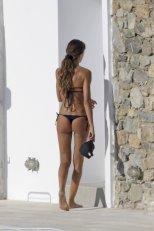 Izabel Goulart Black Bikini