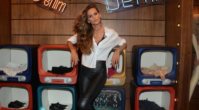 Izabel Goulart – Store Opening Party in Sao Paulo