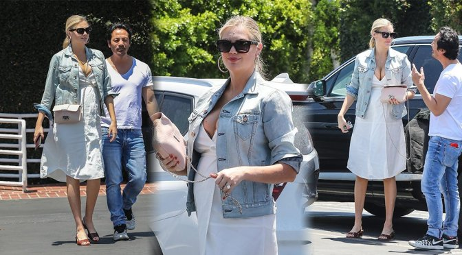 Kate Upton – Cleavage Candids in West Hollywood