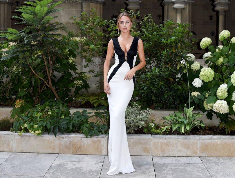 Kimberley Garner Sexy Gown