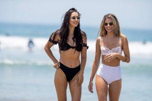Rachel Mccord See Through Bikini
