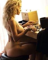 Rita Ora Sexy Lingerie Ass