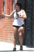 Ariel Winter Short Shorts In La