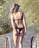 Charlotte Mckinney Big Boobs In Bikini In Capri