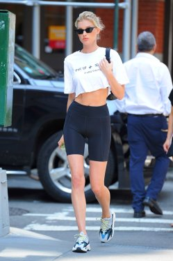 Elsa Hosk Going To Gym In Nyc