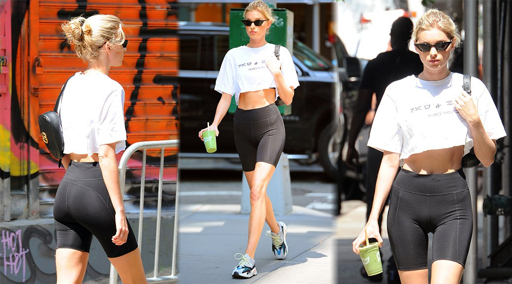 Elsa Hosk - Candids in New York