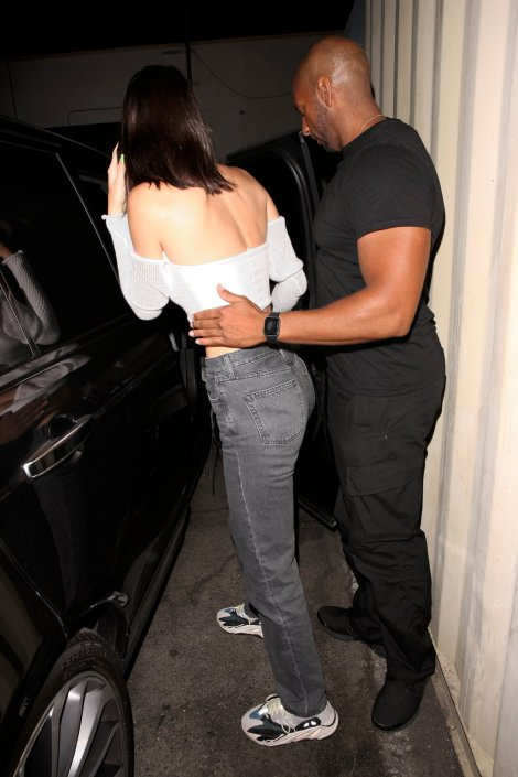 Kendall Jenner At Craigs In W Hollywood