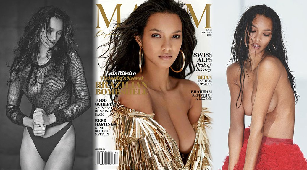 Lais Ribeiro - Maxim Magazine Photoshoot (September/October 2018)