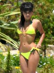 Roxanne Pallett Bikini Pollside In Spain