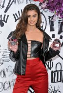Taylor Hill Sexy Leather Top