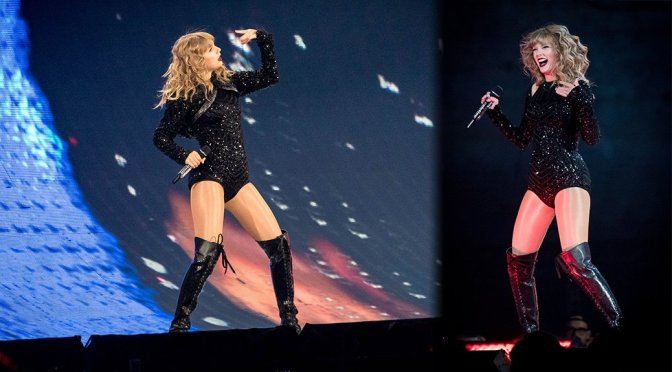 Taylor Swift Performs Live in Toronto