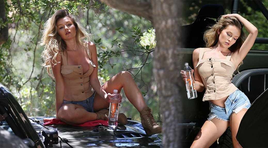 "Trista Mikail - ""128 Water"" Photoshoot in Calabasas"