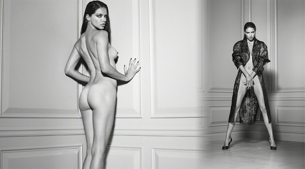 "Adriana Lima - ""Angels"" Naked Photoshoot by Russell James"