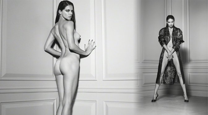 """Adriana Lima – """"Angels"""" Naked Photoshoot by Russell James"""
