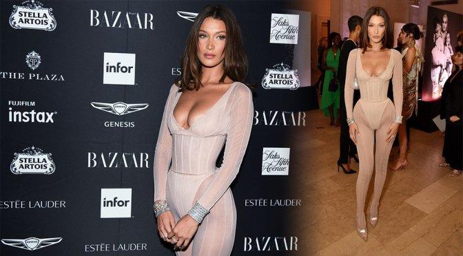 "Bella Hadid – Harer's BAZAAR Celebrates ""ICONS By Carine Roitfeld"""