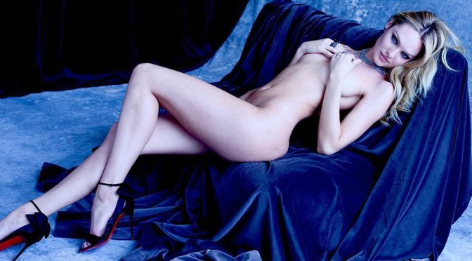 Candice Swanepoel – Naked Photoshoot by Sante D'Orazio