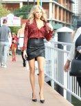Charlotte Mckinney Sexy Long Legs