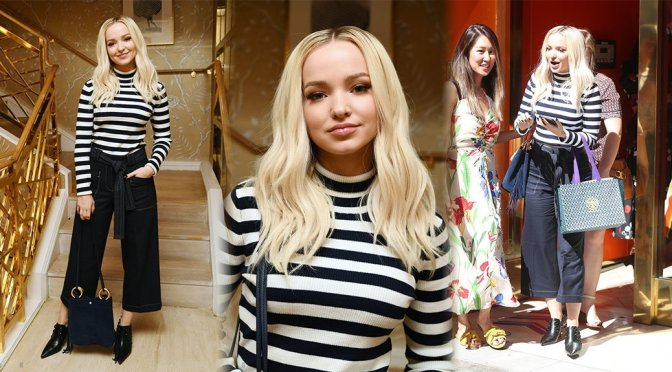 Dove Cameron – Glamour x Tory Burch Women To Watch Lunch in Los Angeles