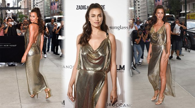 Irina Shayk – Daily Front Row's Fashion Media Awards