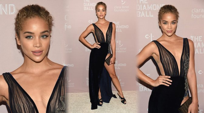 Jasmine Sanders – Rihanna's 4th Annual Diamond Ball in New York