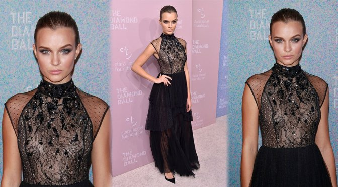 Josephine Skriver – Rihanna's 4th Annual Diamond Ball in New York