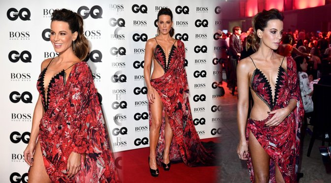 Kate Beckinsale – 2018 GQ Men of the Year Awards in London