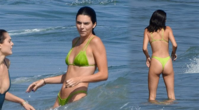 Kendall Jenner Sexy Bikini Body