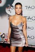 Kourtney Kardashian Sexy Little Dress