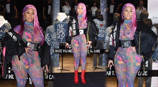 Nicki Minaj Exposed Breasts And Nipples