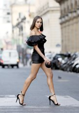 Olivia Culpo Little Black Dress
