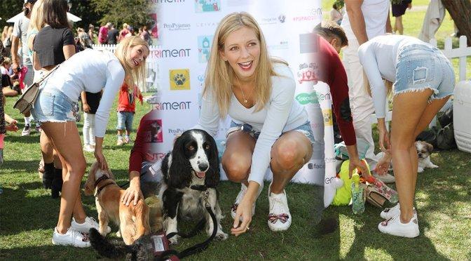 Rachel Riley – PupAid Puppy Farm Awareness Day in London