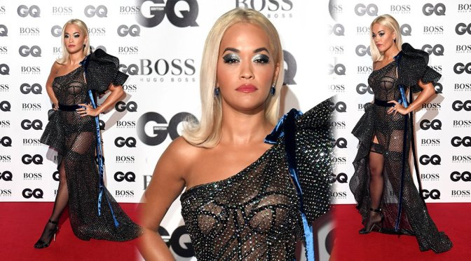 Rita Ora – GQ Men Of The Year Awards 2018 in London