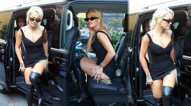 Rita Ora Short Little Dress