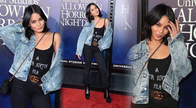 """Vanessa Hudgens – """"Halloween Horror Nights"""" Ppening Night in Los Angeles"""