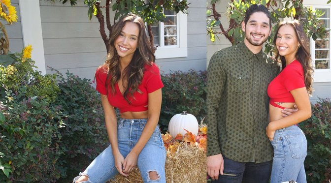"Alexis Ren – Hallmark's ""Home & Family"" in Universal City"
